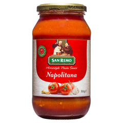 San Remo Homestyle Pasta Sauce Napolitana 500g , Grocery-Cooking - HFM, Harris Farm Markets  - 1