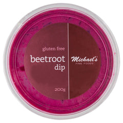 Michaels Fine Foods Beetroot Dip 200g , Frdg1-Antipasti - HFM, Harris Farm Markets  - 1