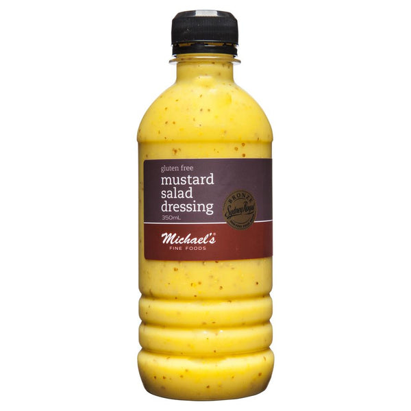 Michaels Dressing Mustard 350ml , Grocery-Oils - HFM, Harris Farm Markets  - 1