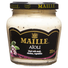 Maille Aioli 200ml , Grocery-Cooking - HFM, Harris Farm Markets  - 1