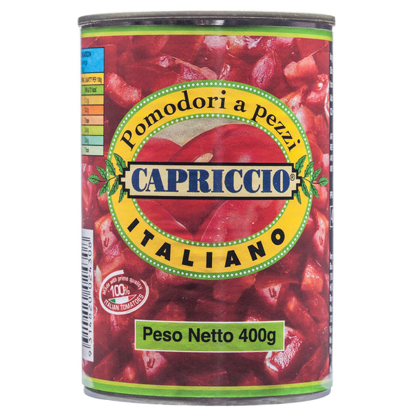 Capriccio Diced Tomatoes 400g , Grocery-Can Veg - HFM, Harris Farm Markets  - 2
