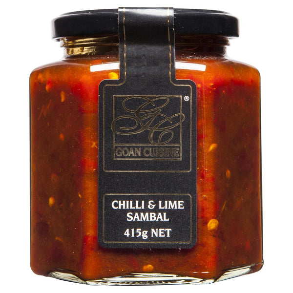 Goan Cuisine Chilli Lime Sambal 415g , Grocery-Cooking - HFM, Harris Farm Markets  - 1