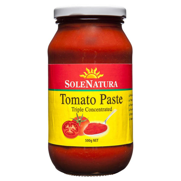 Sole Natura Tomato Paste 500g , Grocery-Can or Jar - HFM, Harris Farm Markets  - 1