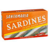 Santamaria Sardines Hot 120g , Grocery-Can or Jar - HFM, Harris Farm Markets  - 2