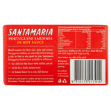 Santamaria Sardines Hot 120g , Grocery-Can or Jar - HFM, Harris Farm Markets  - 3
