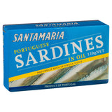 Santa Maria Sardines Oil 120g , Grocery-Can or Jar - HFM, Harris Farm Markets  - 2