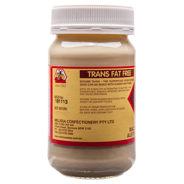 Melissa Tahini 375g , Grocery-Spreads - HFM, Harris Farm Markets  - 3