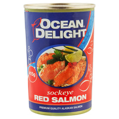Ocean Delight Red Salmon 415g , Grocery-Seafood - HFM, Harris Farm Markets  - 1
