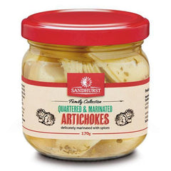 Sandhurst - Artichoke Hearts - Quartered & Marinated (170g)