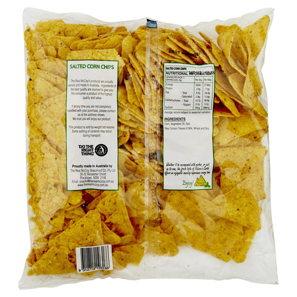 Nature's Earth Corn Chips Salted 500g , Grocery-Confection - HFM, Harris Farm Markets  - 2