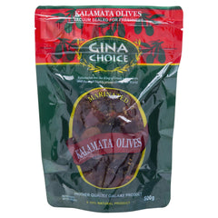 Gina Olives Kalamata 500g , Grocery-Antipasti - HFM, Harris Farm Markets  - 1