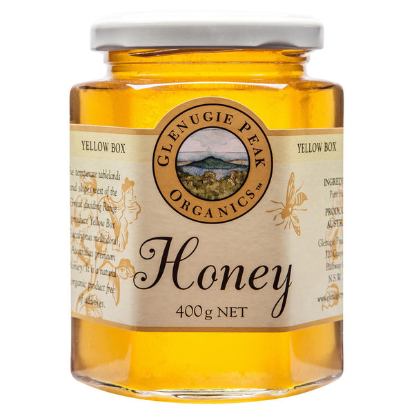 Glenugie Yellow Box Honey 400g , Grocery-Spreads - HFM, Harris Farm Markets  - 1
