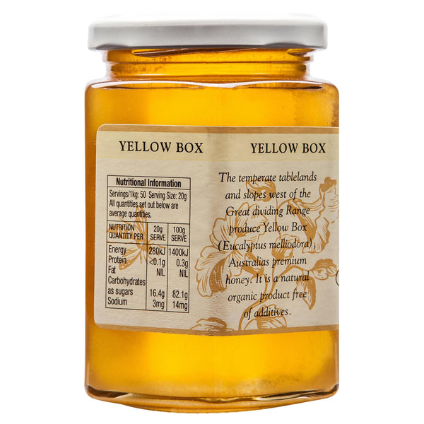 Glenugie Yellow Box Honey 400g , Grocery-Spreads - HFM, Harris Farm Markets  - 2