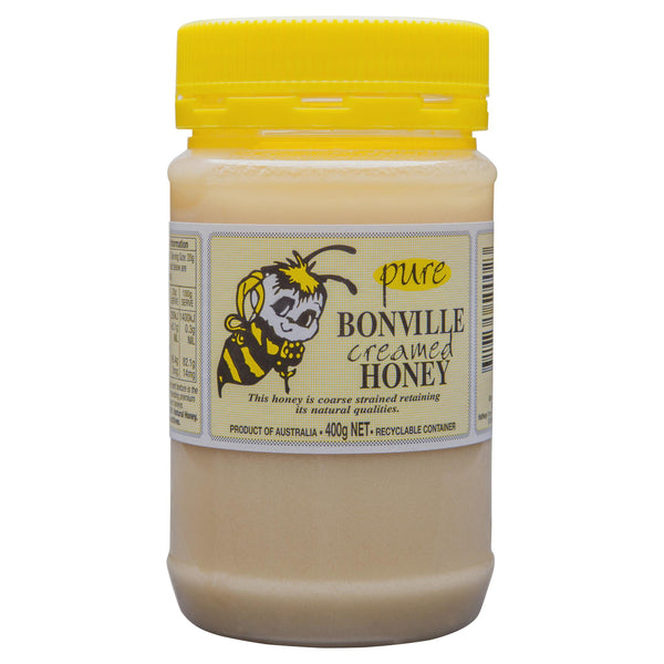 Bonville Creamed Honey 400g , Grocery-Spreads - HFM, Harris Farm Markets  - 1
