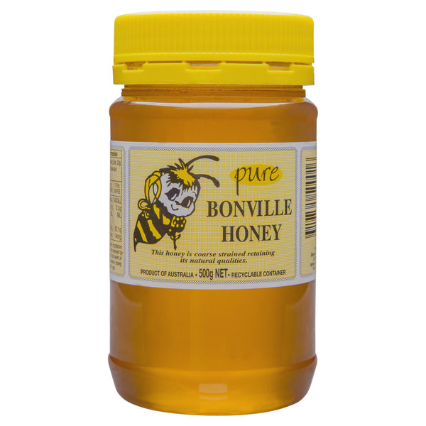 Bonville Pure Honey 500g , Grocery-Condiments - HFM, Harris Farm Markets  - 1
