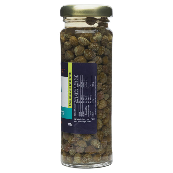 Sandhurst Baby Capers 110g , Grocery-Antipasti - HFM, Harris Farm Markets  - 2