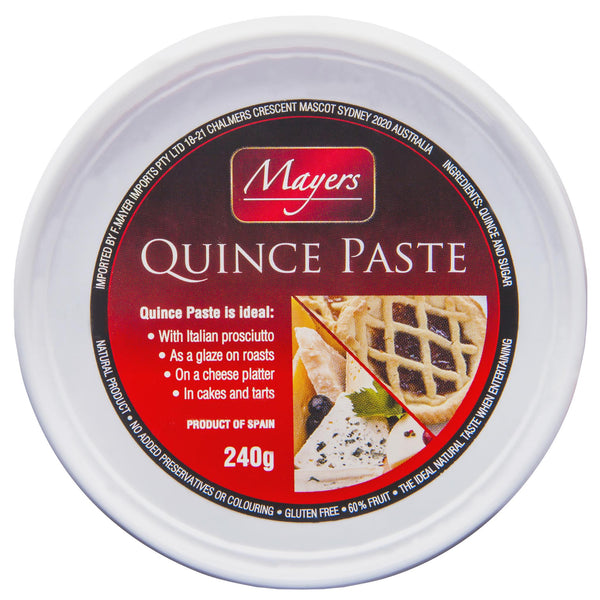 Mayers Paste Quince 240g , Grocery-Antipasti - HFM, Harris Farm Markets