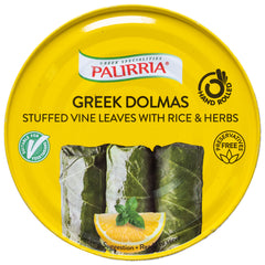 Palirria - Stuffed Vine Leaves - with Rice and Herbs (280g)