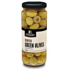 Sandhurst Green Olives Stuffed 350g