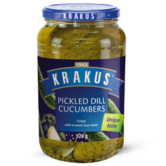 Krakus Pickled Dill Cucumbers 920g