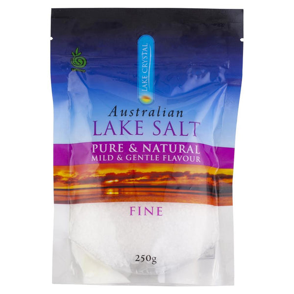 Lake Crystal Australian Lake Salt Fine 250g , Grocery-Condiments - HFM, Harris Farm Markets  - 1