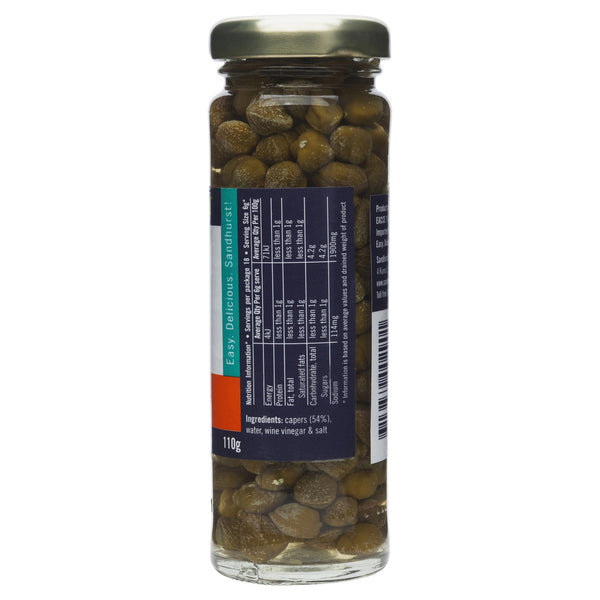 Sandhurst Capers In Vinegar 110g , Grocery-Condiments - HFM, Harris Farm Markets  - 2