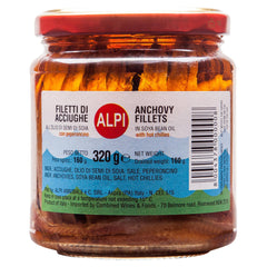 Alpi Anchovies Chilli 320g , Grocery-Can or Jar - HFM, Harris Farm Markets  - 1