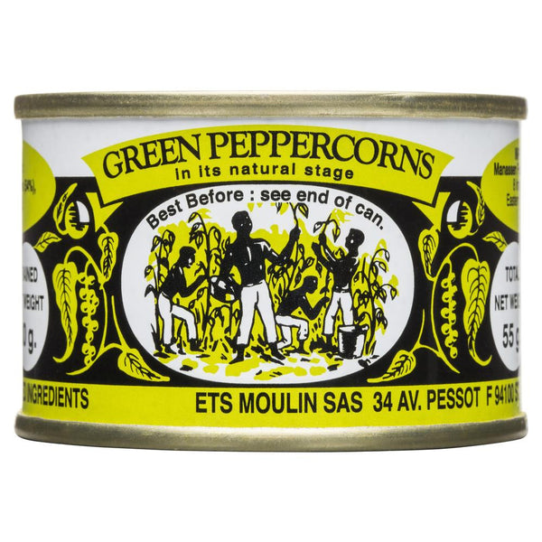 Moulin Green Peppercorns 55g , Grocery-Condiments - HFM, Harris Farm Markets  - 1