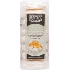 Heritage Delight - Meringue Nests - Vanilla (8 Large, 100g)