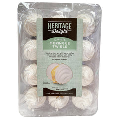 Heritage Delight - Meringue Twirls (12 White, 95g)