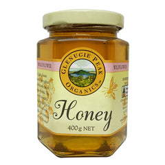 Glenugie Peak Organics Organics WildFlower Honey 400g