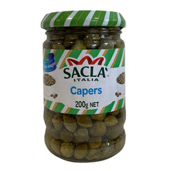 Sacla Capers with Wine Vinegar 200g