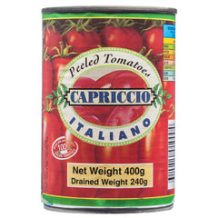 Capriccio Peeled Tomatoes 400g , Grocery-Can Veg - HFM, Harris Farm Markets  - 1