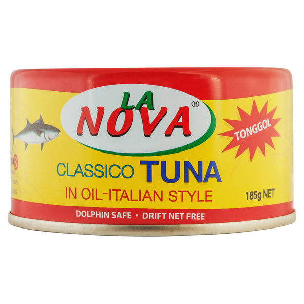 La Nova Tuna In Oil Italian Style 185g , Grocery-Can or Jar - HFM, Harris Farm Markets  - 1