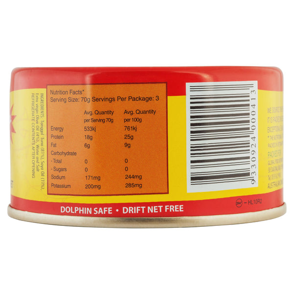La Nova Tuna In Oil Italian Style 185g , Grocery-Can or Jar - HFM, Harris Farm Markets  - 2