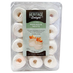 Heritage Delight - Meringue Nests (12 Mini, 95g)