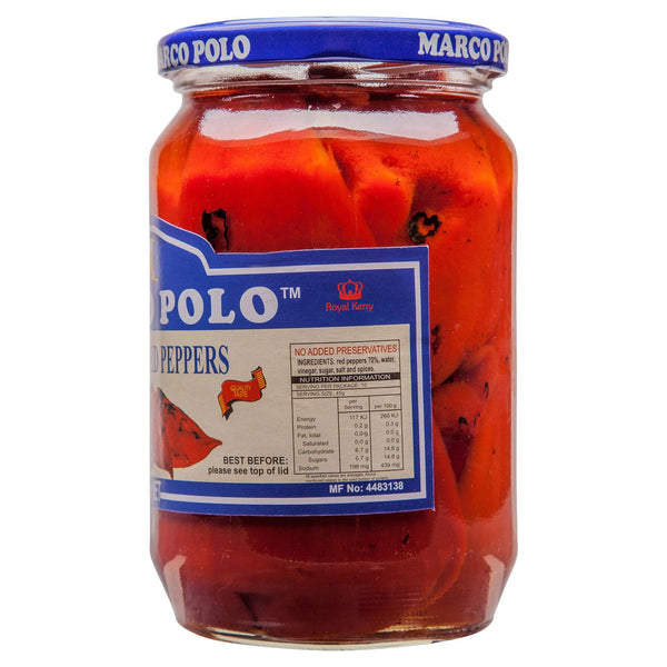 Marco Antipasti Peppers Red Roasted 670g , Grocery-Condiments - HFM, Harris Farm Markets  - 2