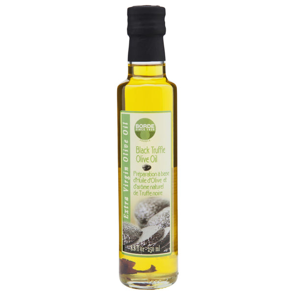 Borde Olive Oil Black Truffle 250ml , Grocery-Condiments - HFM, Harris Farm Markets  - 1