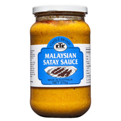 Castle Brand Malaysian Satay Sauce 375g , Grocery-Asian - HFM, Harris Farm Markets  - 1