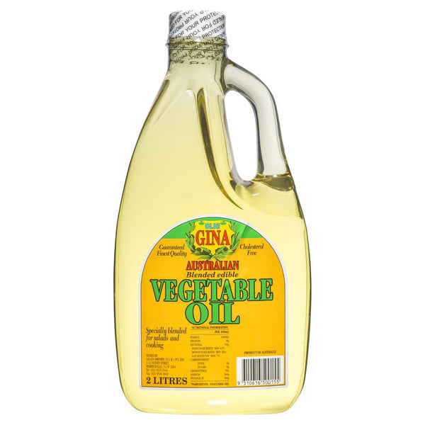 Gina Australian Vegetable Oil 2l , Grocery-Oils - HFM, Harris Farm Markets  - 1