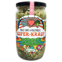 Peace Love & Vegetables - Super Kraut - Green (580g)