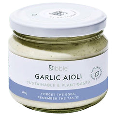 Dibble - Garlic Aioli Sauce - Sustainable and Plant-Based (300g)