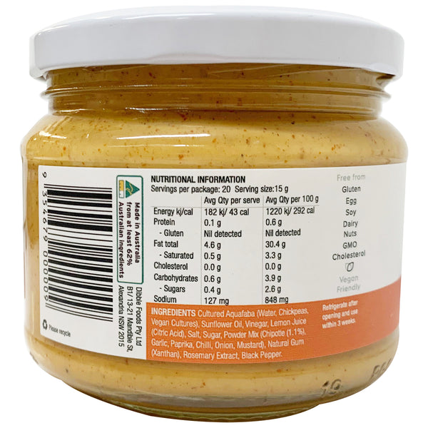 Dibble - Chipotle Mayo Sauce - Sustainable and Plant-Based (300g)