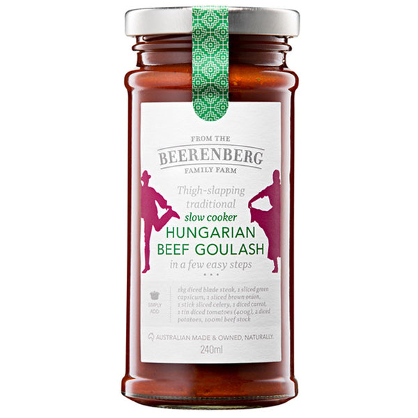 Beerenberg Slow Cooker Hungarian Beef Goulash 240ml