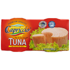 Capriccio Tuna Olive Oil Twin pack | Harris Farm Online