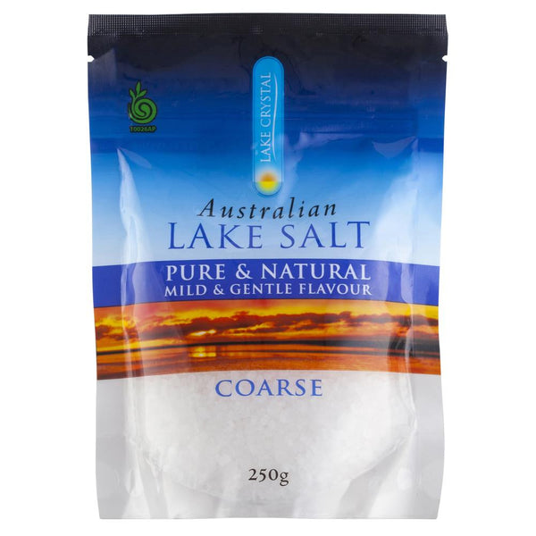 Lake Crystal Australian Lake Salt Coarse 250g , Grocery-Cooking - HFM, Harris Farm Markets  - 1