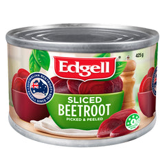 Edgells - Sliced Beetroot - Picked and Peeled (425g)