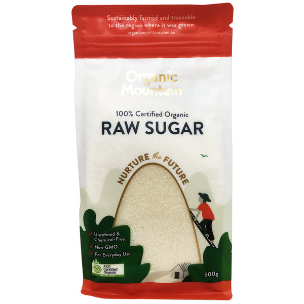 Organic Mountain Raw Sugar 500g