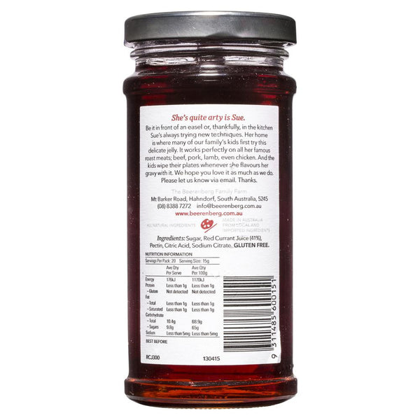 Beerenberg Red Currant Jelly 300g , Grocery-Condiments - HFM, Harris Farm Markets  - 2