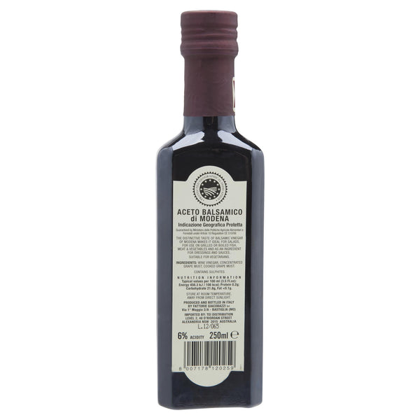 Fattorie Balsamic Vinega 250Ml 250ml , Grocery-Oils - HFM, Harris Farm Markets  - 2